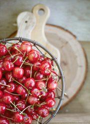 sour cherries